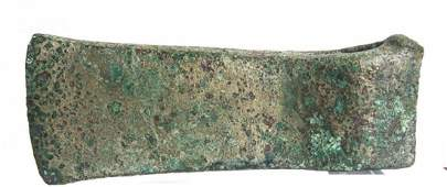Ancient Luristan Bronze Age socketed shaft axe