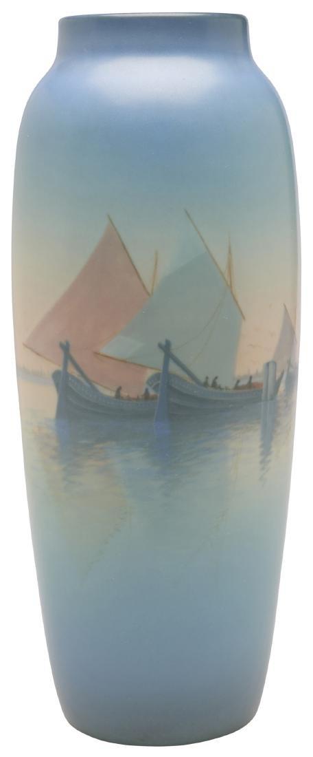Carl Schmidt for Rookwood Pottery vase