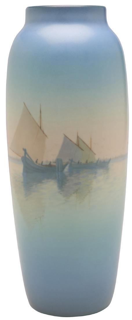 Carl Schmidt for Rookwood Pottery vase - 2