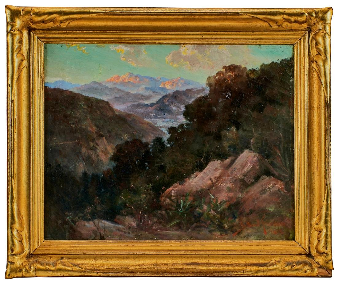 John Bond Francisco oil on canvas