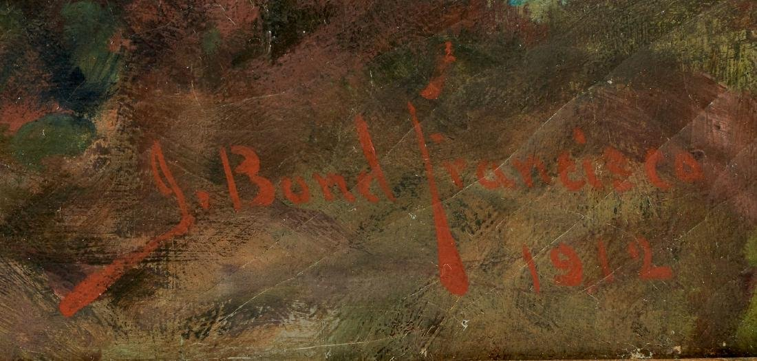 John Bond Francisco oil on canvas - 2