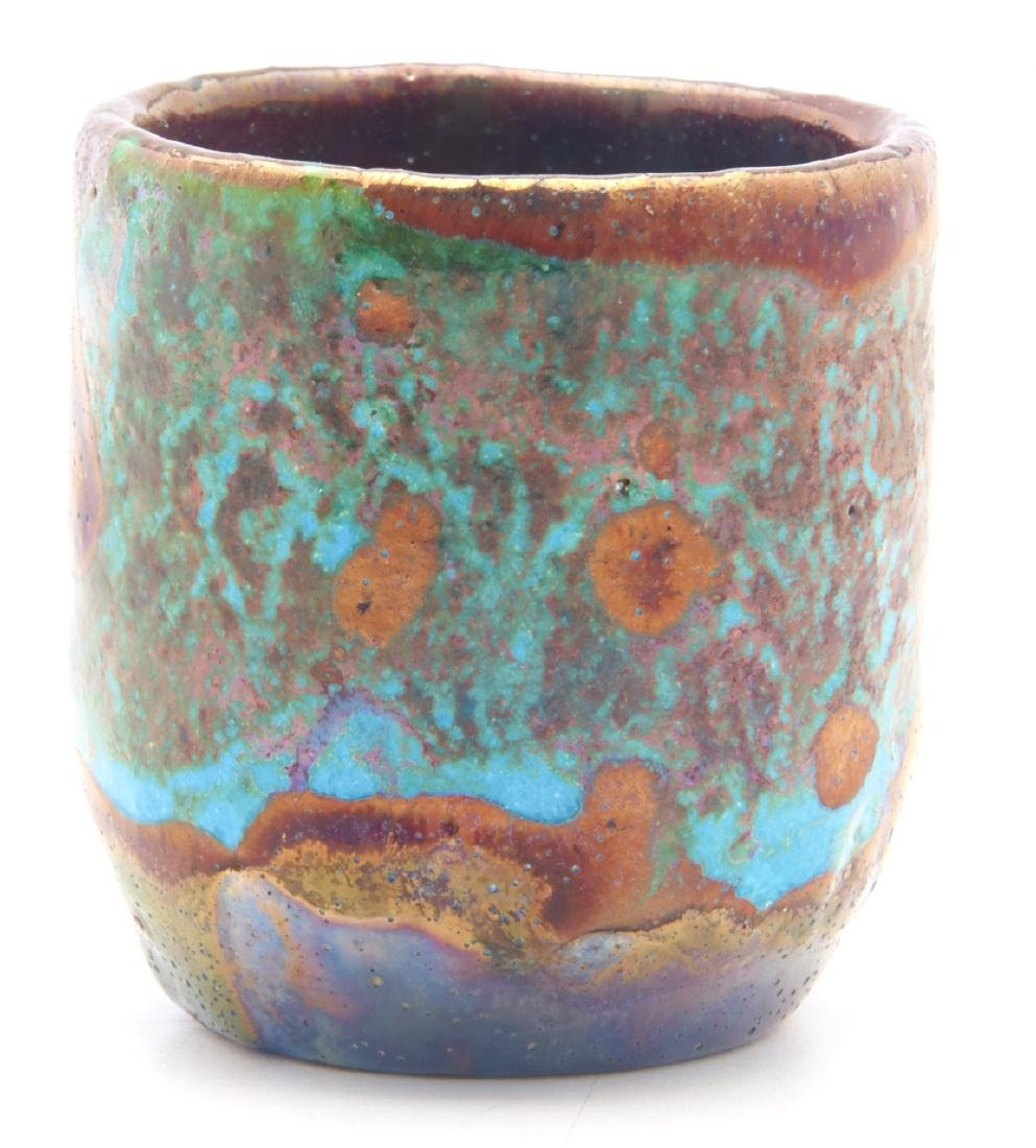 Pewabic Pottery miniature vase