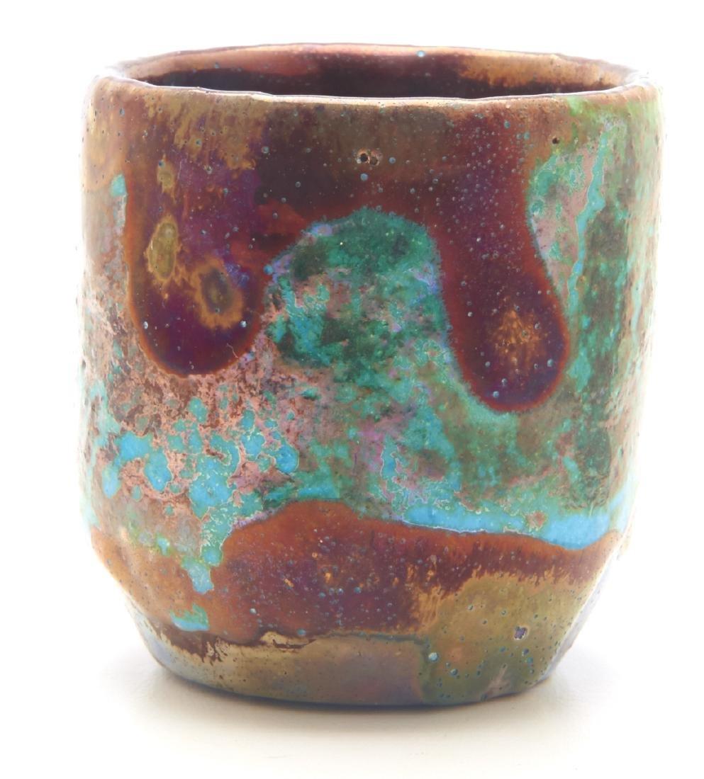 Pewabic Pottery miniature vase - 2