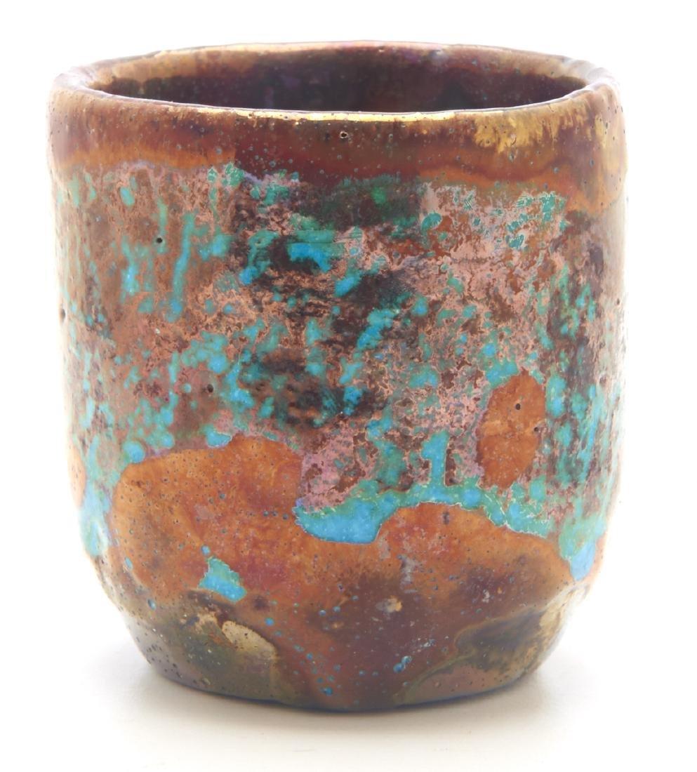 Pewabic Pottery miniature vase - 3
