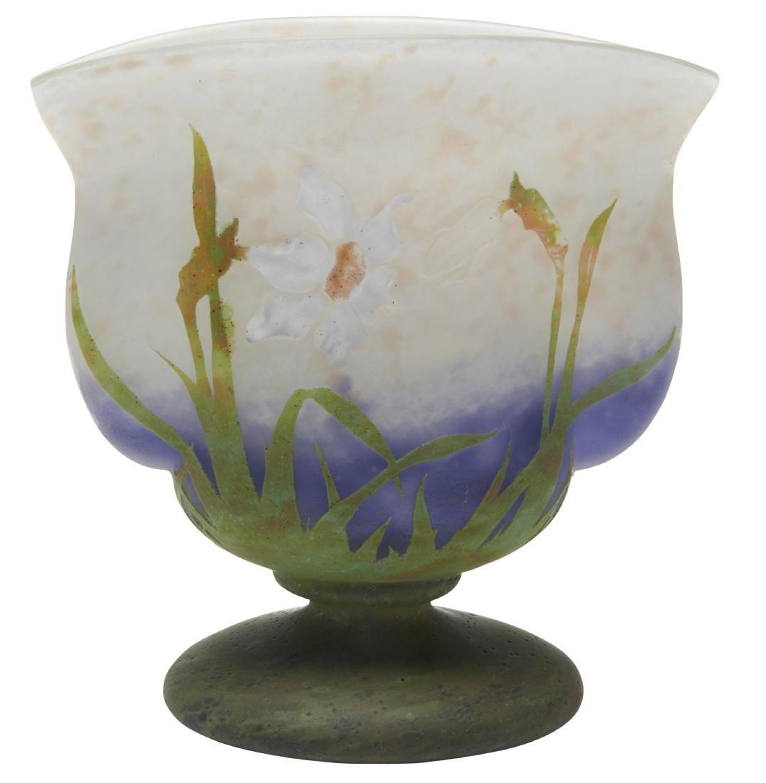 Daum Daffodil vase - 2