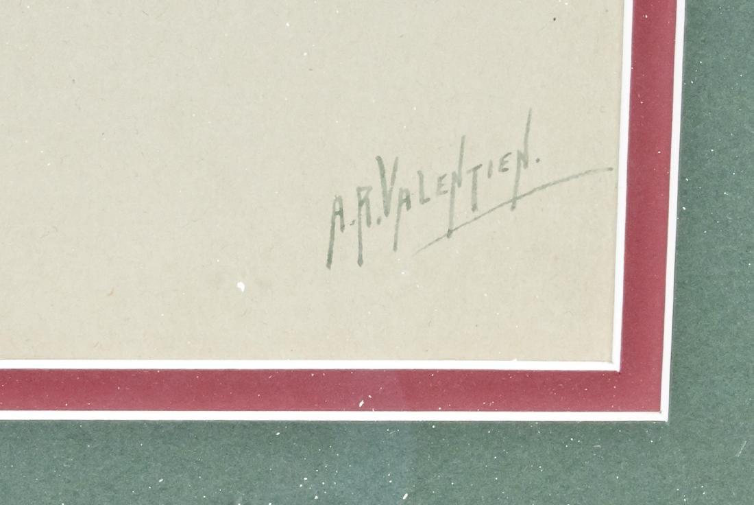 Albert R. Valentien gouache - 3