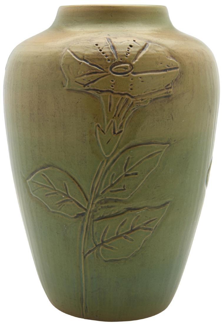 University of North Dakota Pottery vase