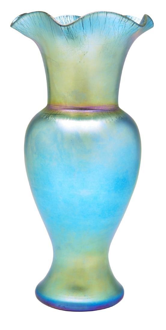 Frederick Carder for Steuben vase