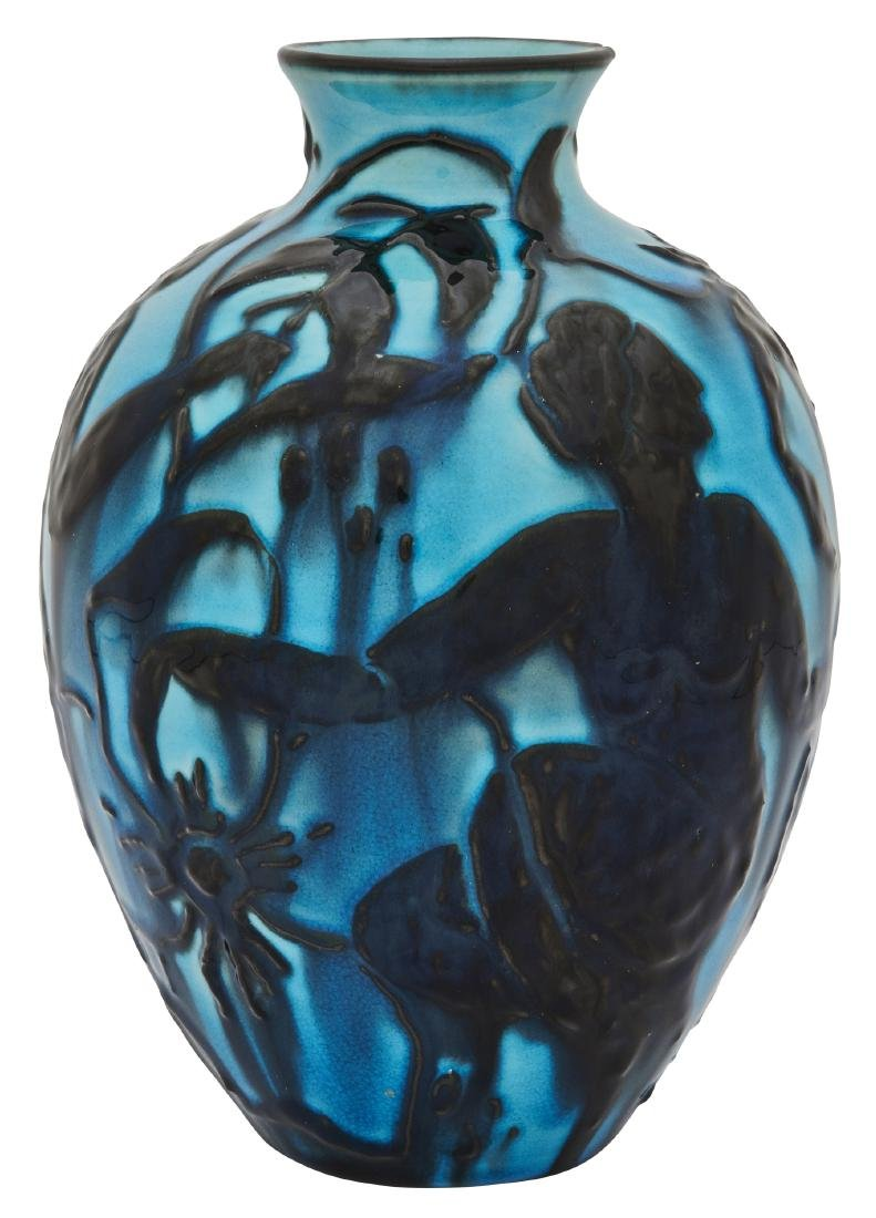 Elizabeth Barrett for Rookwood Pottery vase - 3