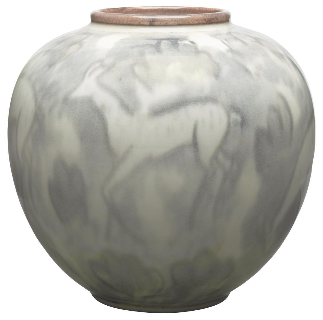 Jens Jensen for Rookwood Pottery vase - 3