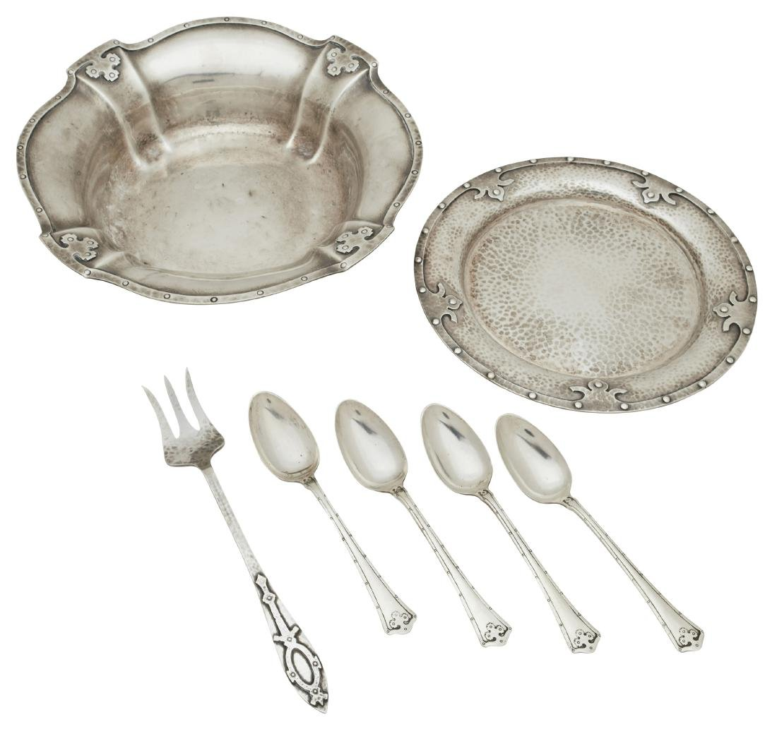 R. Wallace & Sons silver