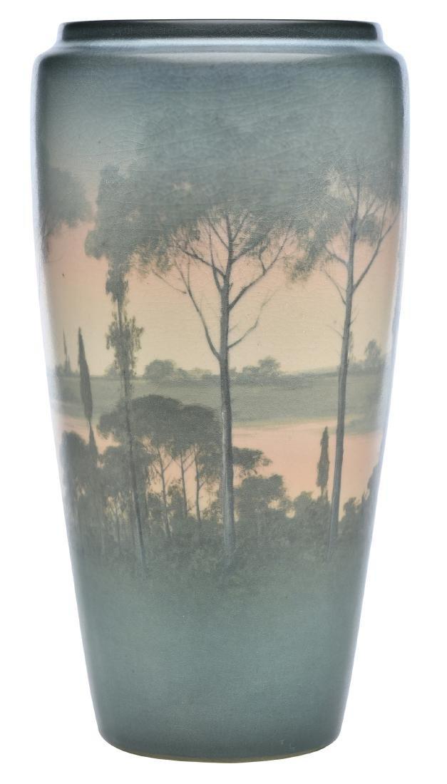 Kataro Shirayamadani for Rookwood Pottery Landscape