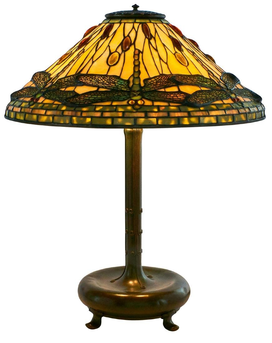 Tiffany Studios Dragonfly table lamp - 2