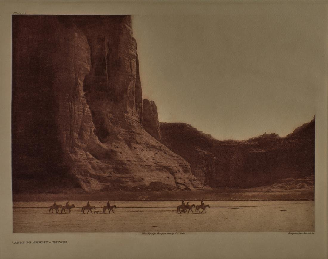 Group of 4 large format Edward Curtis photogravures - 2