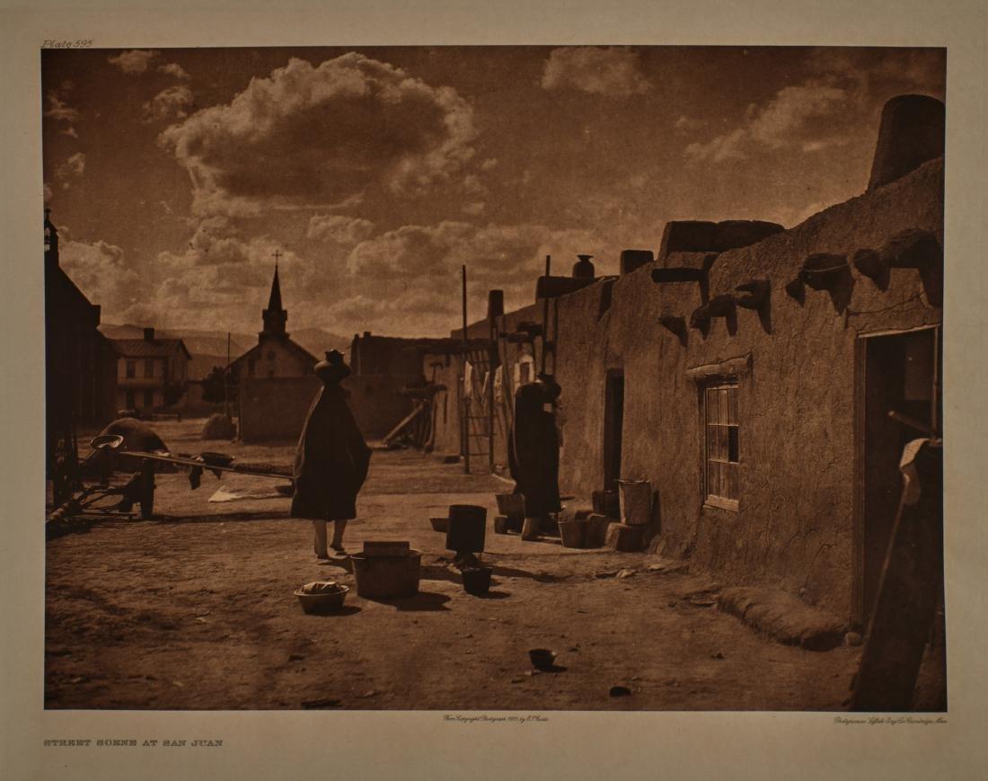 Group of 4 large format Edward Curtis photogravures - 3
