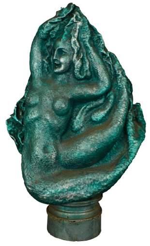 "Waylande Gregory ""Mermaid"" sculpture"