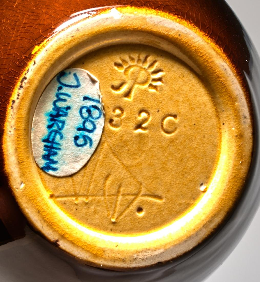John D. Wareham for Rookwood Pottery Poppies vase - 3