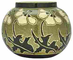 Amelie Roman for Newcomb College Poppies vase