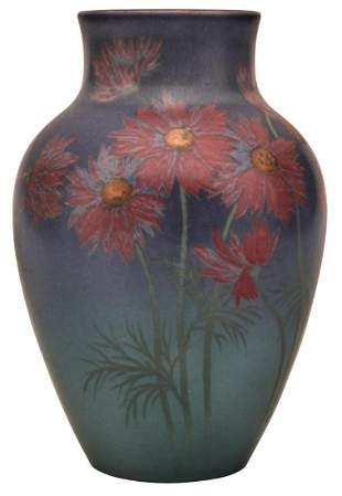 Harriet Wilcox for Rookwood Pottery Aster vase