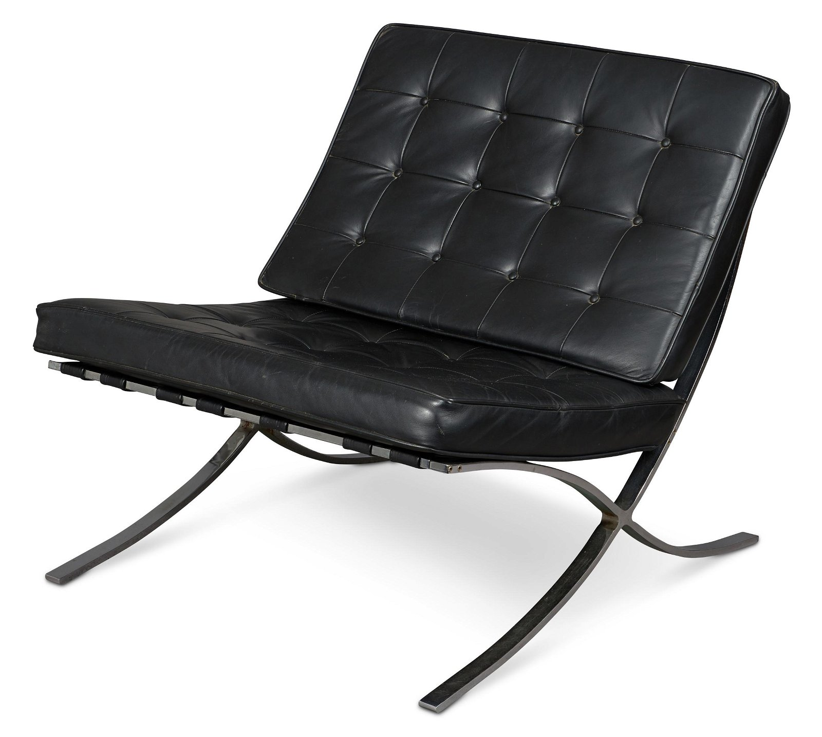 Mies Van Der Rohe Barcelona chair, attributed