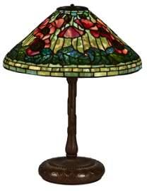 Tiffany Studios Oriental Poppy lamp