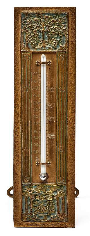 Tiffany Studios thermometer