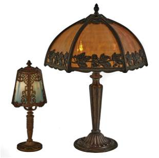 American Victorian lamps