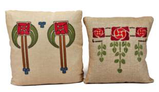 Arts and Crafts pillows