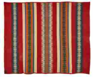 Capps & Co. Indian trade blanket