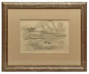 Thomas Hart Benton drawing