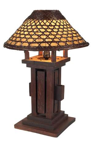 Arts and Crafts lamp