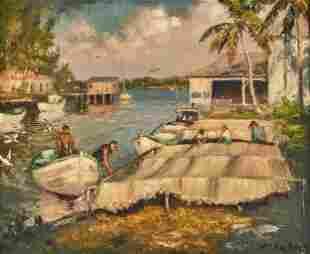 Albert Ernest Backus painting