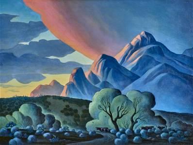 Dale William Nichols painting