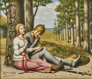 L. B. Dauzats painting