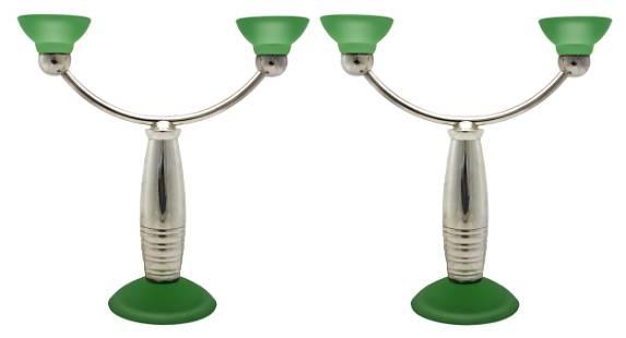 Christofle candlesticks