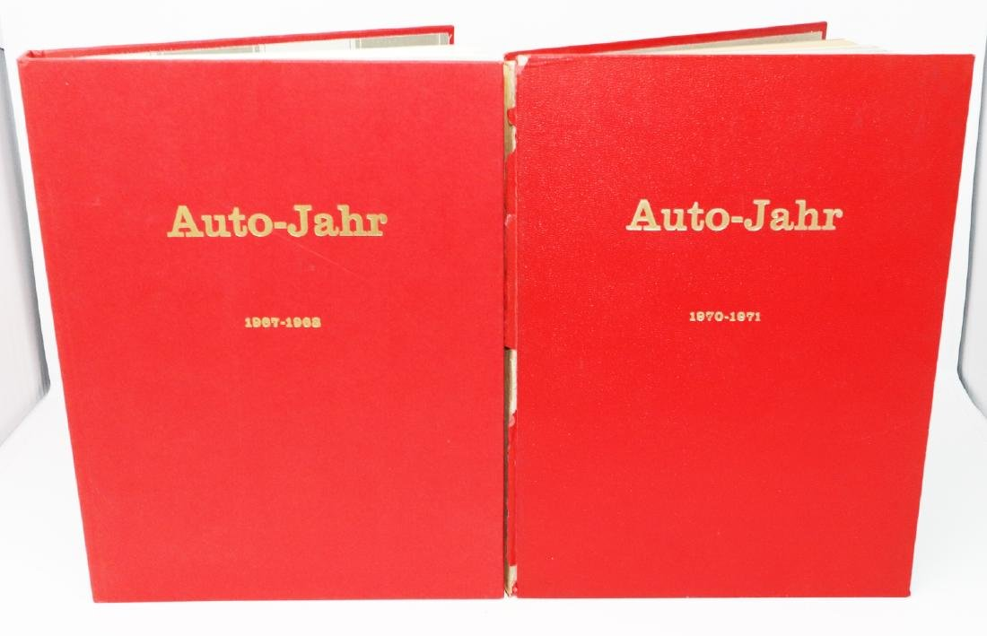 Auto-Jahr Yearbook 1967-1968 and 1970-1971