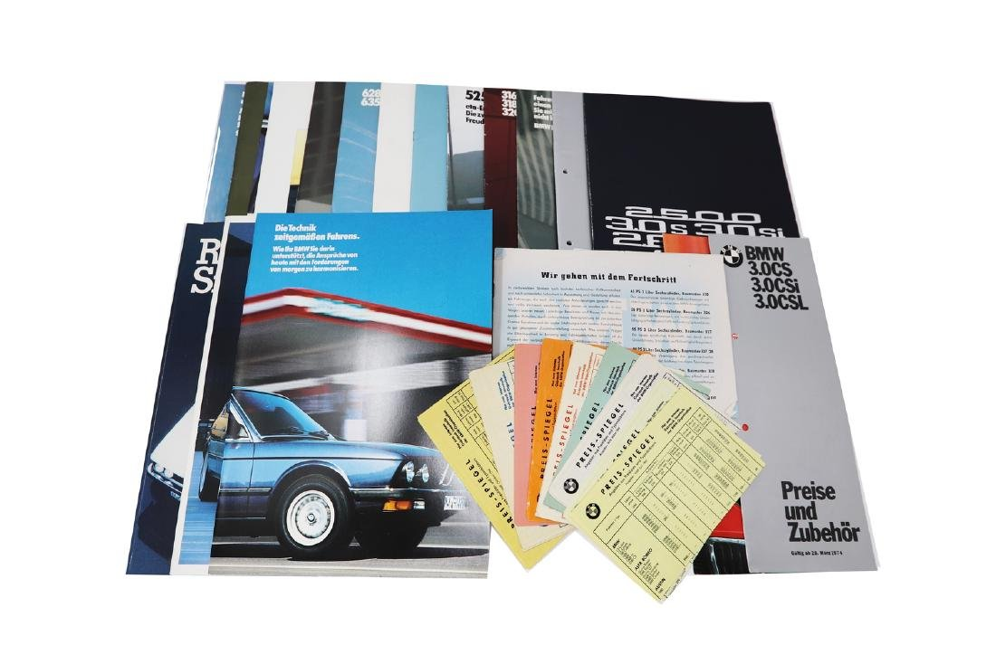 BMW Mixed lot with 28 pieces, 9 x price comparison from
