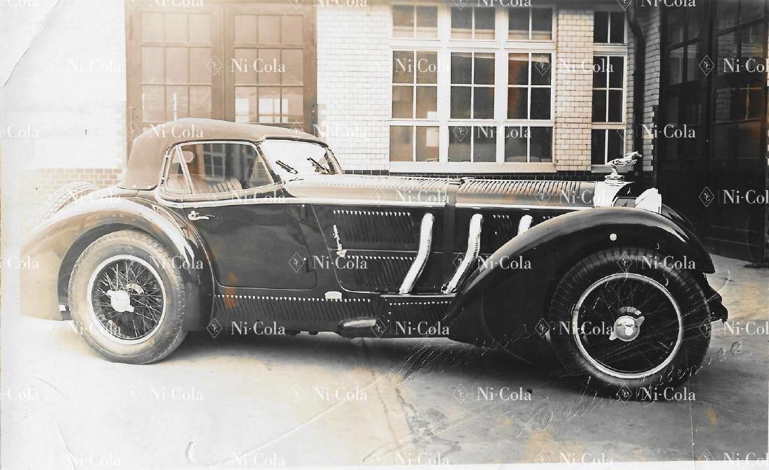 Mercedes-Benz / Erdmann & Rossi Original b/w press