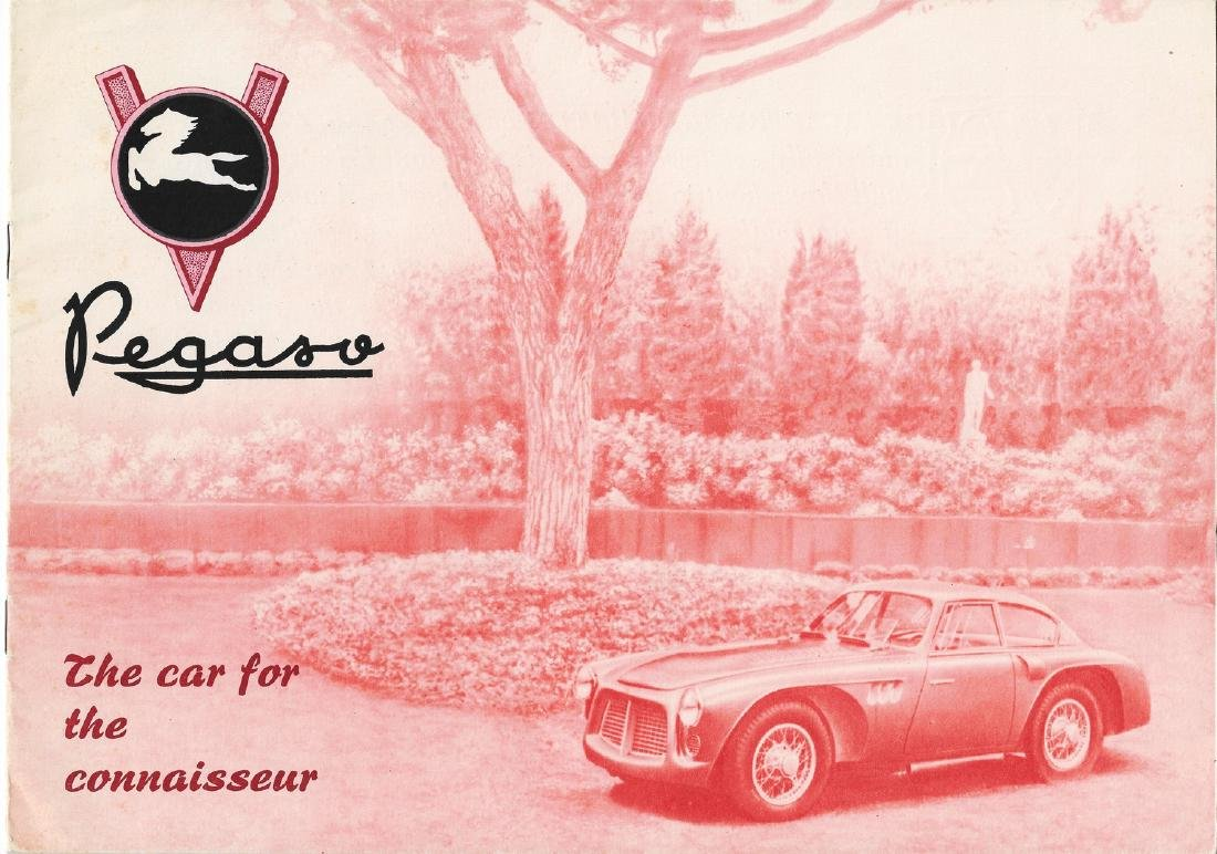Pegaso Sales brochure type Z-102 from 1953