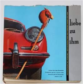 Porsche Book 'Liebe zu ihm' from Lapper 1960