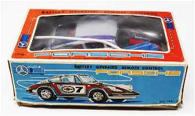 Porsche Model car Martini Racing with cable remote
