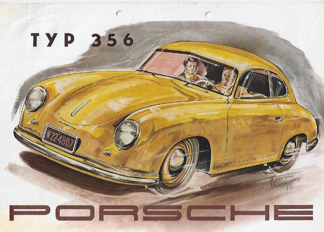 Porsche Folder type 356