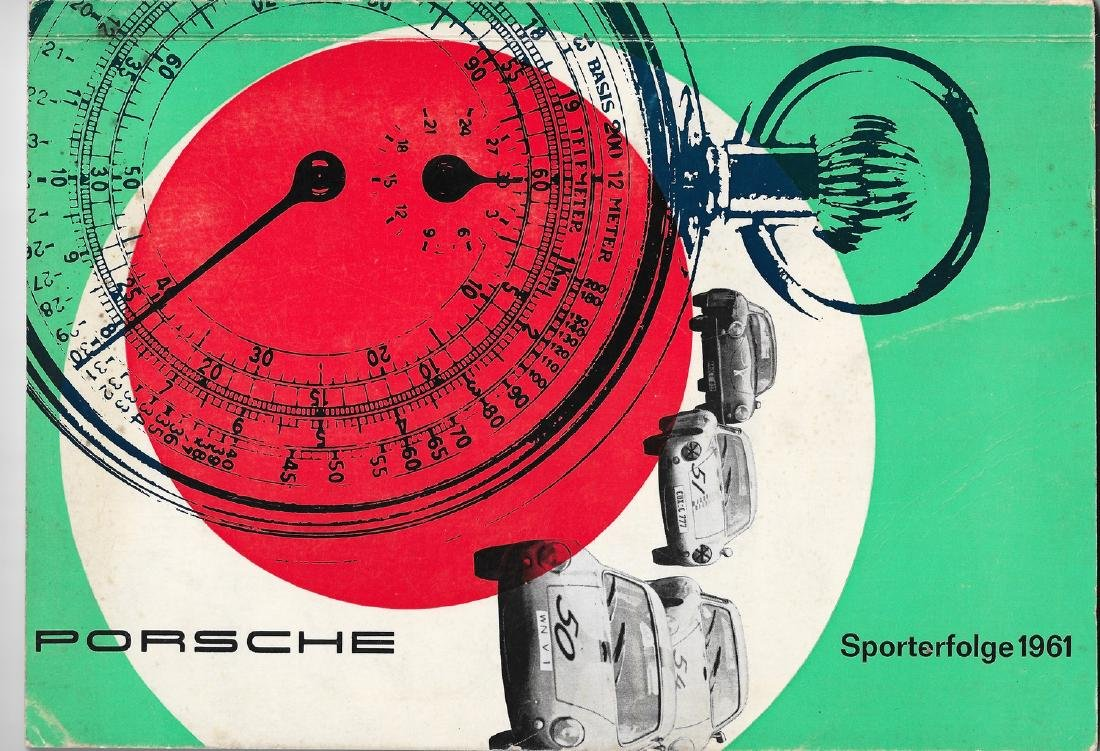 Porsche Brochure 'Sporterfolge' 1961