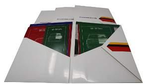 Porsche 4 Porsche folders early 80s