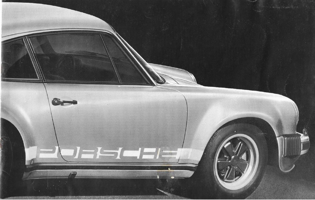 Porsche Turbo First brochure from 1975