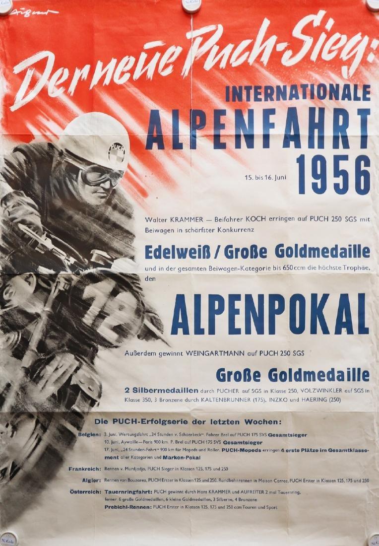 Poster Poster 'Internationale Alpenfahrt 1961'