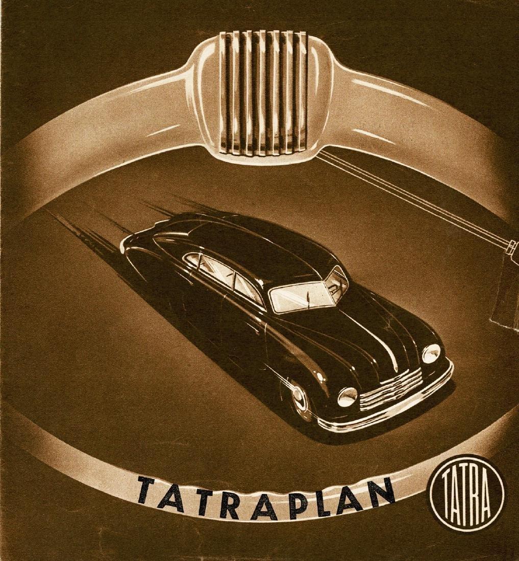 Tatra Folder Tatraplan from 1949