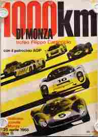 1000 Km di Monza Poster for advertising pillar '1000 Km