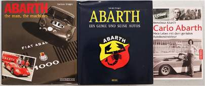 Abarth Mixed lot with 3 books