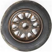 Automobilia Rim with Semperit tires